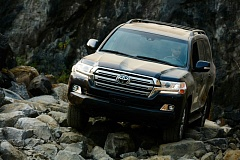 COURTESY TOYOTA - The 2017 Toyota Land Cruiser is still a heavy duty off-road machine, even though it is now a luxury SUV, too.