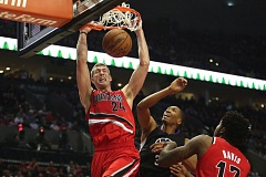 TRIBUNE PHOTO: JAIME VALDEZ - The Trail Blazers have sent center Mason Plumlee to the Denver Nuggets in a trade for Jusuf Nurkic, with an exchange of draft picks that gives Portland two first-rounders in 2017.