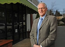 SPOKESMAN PHOTO: VERN UYETAKE - Tim Knapp has been involved with more than a dozen boards and committees since moving to Wilsonville in 1986.  In honor of his committment to the City, the Rotary Club of Wilsonville has selected Knapp as a First Citizen nominee.