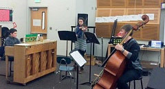 CONTRIBUTED PHOTO: MARY ANN BUGNI - The 'Our Family concert,' composed by Alexandra Czyzewicz, is scheduled to begin at 7 p.m. Friday, Feb. 17. The show features both students and professional musicians.