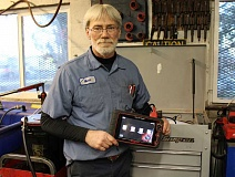 HOLLY M. GILL - When his expensive automotive diagnostic tool was stolen in a break-in either late Jan. 27, or early Jan. 28, Mark Hodges, the owner of Mark's Auto Repair, was forced to immediately purchase another. Hodges lost an estimated $17,000 worth of vehicles and tools, but two ATVs were located and returned.