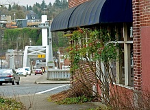 TIDINGS PHOTOS: VERN UYETAKE - The former West Linn Police Station has been vacant since 2014, when police moved into a new station on 8th Avenue.