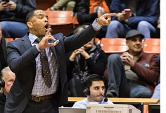 COURTESY: UNIVERSITY OF THE PACIFIC - Damon Stoudamire returned to Portland to coach against the Pilots in his first year as head of the Pacific Tigers men's basketball team.