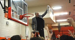 TIMES PHOTO: MATT SINGLEDECKER - Beaverton head coach Andrew Vancil and the Beaver boys basketball team won their second straight Metro League title on Friday.