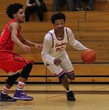 COURTESY: KEN RUMBAUGH - Madison High senior Myles Fitzgerald-Warren overcame two years of injuries to return in a leading role for the Senators.