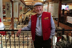 PHOTO BY DAVID F. ASHTON  - On his 88th birthday, Bob Moore spends it in what he calls his favorite place - the Bob's Red Mill store.