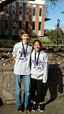SUBMITTED PHOTO: COURTESY OF ERICA CHIANG - Erica Chiang and Matthew Seeley were among nine All Stars in the regional Science Bowl competition on Feb. 11.