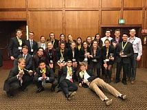 SUBMITTED PHOTO: COURTESY OF LOHS - Lake Oswego High School students excelled at the state DECA event.