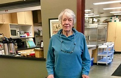 SUBMITTED PHOTO  - Delores Maloney has discovered Uber, and she has regained some of her independence. Maloney finds the transportation service makes trips to appointments and shopping simple. The system is easy to use.