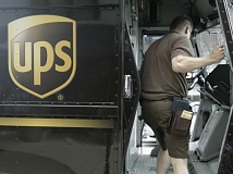 OPB PHOTO - A UPS delivery driver.