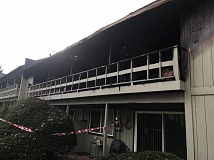 KOIN 6 NEWS - Fire damaged this Southwest Portland apartment buildings on Feb. 25.
