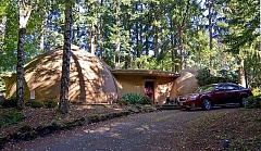 "PAMPLIN MEDIA GROUP PHOTO: VERN UYETAKE - This quirky house in West Linn — known as the ""Hobbit House"" — is part of the Bill and Frank Hartner bankruptcy."