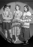 PHOTO COURTESY OF AL STEWART PHOTOGRAPHY, TUALATIN - The cast of Crimes of the Heart include, from left, Jayne Furlong as Meg; Amelia Morgan-Rothschild as Babe; and Adriana Gantzer as Lenny.