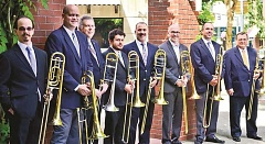 COURTESY PHOTO - Rose City Trombones will take the stage March 10 as special guests at the Hillsboro Symphony Orchestra concert.