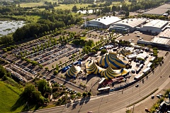 COURTESY PHOTO: CIRQUE DU SOLEIL - Cirque du Soleil's Grand Chapiteau will return to the Portland Expo Center for 'KURIOS ~ Cabinet of Curiosities,' starting Aug. 24.