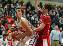 PMG PHOTO: JIM BESEDA - Clackamas senior Matt O'Brien and the third-ranked Cavaliers kick off their Class 6A state tournament when they face West Salem at 6:30 p.m. Wednesday at the Chiles Center.