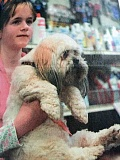 ARCHIVE PHOTO - In 2007, Julie MacDonald, age 10, took Daisy to a Good Manners class at the recently-opened Teachers Pet.