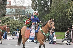 NEWS-TIMES/HILLSBORO TRIBUNE FILE PHOTO - The St. Paul Rodeo court is set to return to the Murphy's St. Patrick's parade this Saturday.
