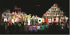 PIONEER FILE PHOTO - Performers at the finale of the 2016 production of the Singing Christmas Tree