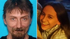 SUBMITTED PHOTOS - Thomas Stofiel, 44, and his daughter, Kaitlyn, 11, were found in good condition on Wednesday morning, March 8, about a mile from where Stofiel had left his pickup truck, just off U.S. Highway 26, about 26 miles north of Warm Springs.