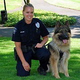 SUBMITTED PHOTO - Odie, a Hillsboro police canine, was euthanized on Thursday after he was diagnosed with cancer.