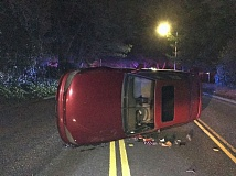 BEAVERTON POLICE - A roll-over accident with no fatalities, Sunday, March 12.