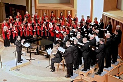 COURTESY PHOTO - The Oregon Chorale performs two concerts this weekend with the theme of 'Response to Strife.'