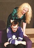 COURTESY PHOTO: DORINDA TONER - Patti Speight and Stan Yeend play a mother and son in HART Theatres upcoming production of 'The December Man.'
