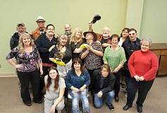SUBMITTED PHOTO - The High Desert Community Theater cast.