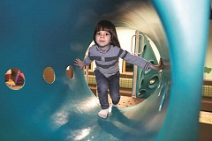 JAIME VALDEZ - Play Boutique offers a variety of fun play spaces that children love to explore.