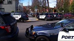 KOIN 6 NEWS - A man was hospitalized after being shot at at Northwest Tower Apartments on Northwest 19th Avenue on Sunday.