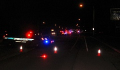 COURTESY FOREST GROVE POLICE DEPARTMENT - The scene of the Saturday night fatal crash in Forest Grove.