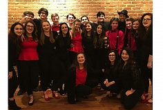 SUBMITTED PHOTO - Sound Check is one of only 10 high school choirs nationally eligible to compete for the U.S. championship.