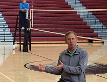 TRIBUNE FILE PHOTO: STEVE BRANDON - Veteran coach Jim Moore has stepped down after 12 seasons as Oregon Ducks volleyball coach.