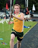 TIDINGS FILE PHOTO - West Linn senior pole vaulter Justin Gould took second place in the Three Rivers League a year ago and will lead the Lions again in 2017.