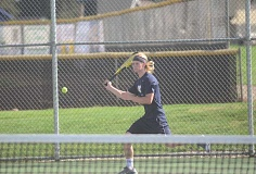 HERALD FILE PHOTO: COREY BUCHANAN - Joe Henry, who played on varsity last season, returns as Canby's No. 1 singles player.