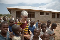 PHOTO COURTESY OF BERTHA HAAS - Bertha Haas founded the Huruma School in Tanzania. The school serves children with disabilities.