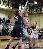 TIDINGS PHOTO: MILES VANCE - West Linn senior Kennedy Fulcher was recently named to the all-Three Rivers League first team for the 2016-17 basketball season.