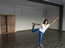 GAZETTE FILE PHOTO - Katia Hofheins said shes looking forward to her new location where she can offer expanded class times and more yoga classes. A ribbon-cutting ceremony is set for April 4, from 5:30 to 7:30 p.m., at 21025 S.W. Highway 99W, next to NW Growlers.