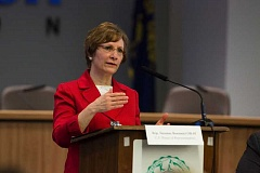 PAMPLIN MEDIA GROUP FILE PHOTO  - Suzanne Bonamici is set to speak in Sherwood in April 17 at Sherwood High School.