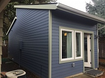 COURTESY: ACCESSORYDWELLINGSTRATEGIES.COM - This is the exterior of a 250-square-foot ADU in Portland.