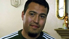 KOIN 6 NEWS - Rodriguez Dominguez after he returned home Monday.