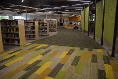DANIEL PEARSON - Main room of the new Canby Public Library.