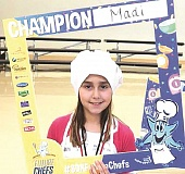 SUBMITTED PHOTO - Madi Bigej was recently crowned the Sodexo Future Chef champion for the Canby School District.