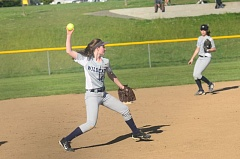 SPOKESMAN PHOTO: COREY BUCHANAN - Wilsonville's Stephanie Soderlund returns as the Wildcats starting shortstop.