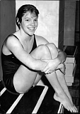 COURTESY OF CAROLYN WOOD - At the age of 11, Carolyn Wood knew she wanted to be a world-class swimmer. She made it to the Olympics and brought home gold in 1960.