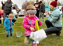 PMG FILE PHOTO - Hundreds of Newberg and Dundee children will descend on a variety of venues over several days in search of the elusive Easter egg.