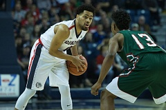 COURTESY: CJ MICHAEL/GONZAGA BULLETIN - Silas Melson, from Jefferson High, could go from sixth man to starting guard at Gonzaga next season.