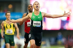 TRIBUNE FILE PHOTO: CHRISTOPHER ONSTOTT - Nick Symmonds wins the 2012 Olympic Trials 800 meters at Hayward Field.